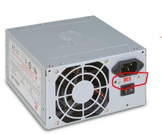 Power Supply Voltage selector